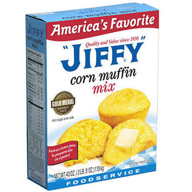 Jiffy® Corn Muffin Mix - 1/40 oz.