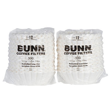Bunn-O-Matic 12-Cup Coffee Filters - 1000 ct.