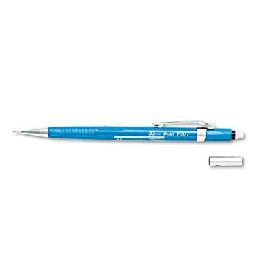 Pentel - Sharp Mechanical Drafting Pencil, 0.7 mm - Blue Barrel