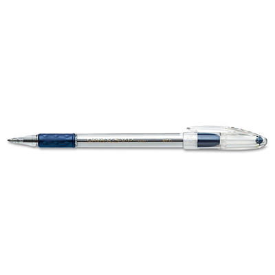 Pentel - R.S.V.P. Ballpoint Stick Pen, Blue Ink, Medium - 12 Pens