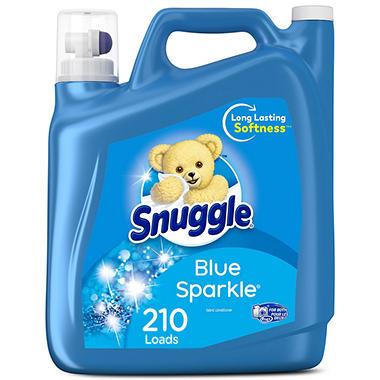Snuggle Blue Sparkle Fabric Softener (210 Loads, 168 oz.)