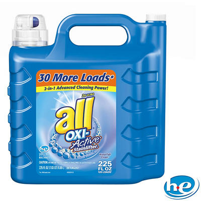 all Oxi-Active Stainlifter Liquid Laundry Detergent (225 oz./126 loads)