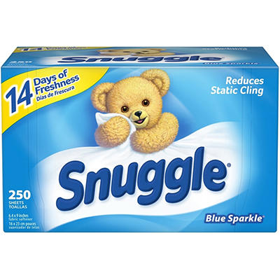 Snuggle Softener Sheets - 250 ct.