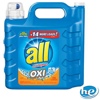 all Oxi-Active Stainlifter Laundry Detergent (250 oz./140 loads)