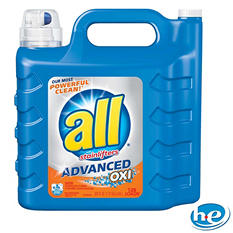 all Advanced OXI Liquid Detergent with Stainlifters (225 oz./126 loads)