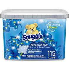 Snuggle Scent Boosters,  Blue Iris Bliss (115ct.)