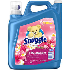 Snuggle Exhilarations Fabric Softener, Island Hibiscus & Rain Flower Scent (180 oz.)