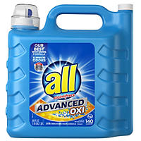 all Advanced Oxi with Stainlifters (250 oz., 140 loads)