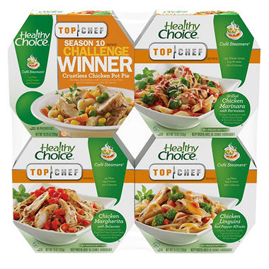 Healthy Choice Café Steamers Variety Pack - 4 ct.
