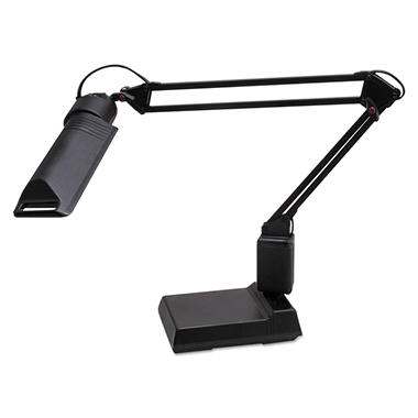 "Ledu 13W Fluorescent Computer Task Lamp, 2-1/4"" Clamp-On or Desk Base, 30"" Arm Reach"