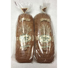 Dunford Bakers Wheat Bread (1.5 lb. loaf, 2 pk.)