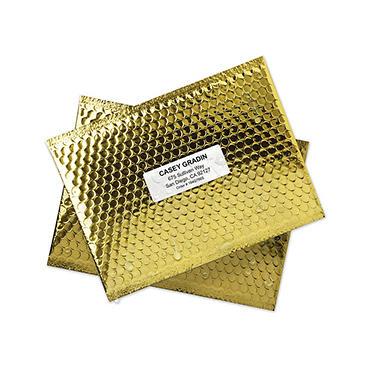 Avery 5520 - Laser WeatherProof Address Labels, 1 x 2 5/8