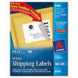 Avery Shipping Labels with TrueBlock™ Technology