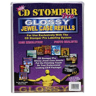 CD Stomper Pro Jewel Case Insert Refills - 25 ct.