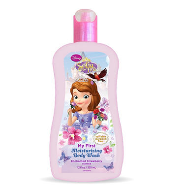 Sofia the First Moisturizing Body Wash, Enchanted Strawberry (12 fl. oz.)