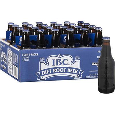 IBC Diet Root Beer (12 oz. bottles, 24 pk.)