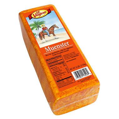 El Viajero Muenster Cheese (6lb.)