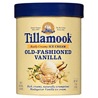 Tillamook Old-Fashioned Vanilla Ice Cream (1.75 qt.)