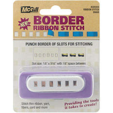 Extra Large Craft Punch - Ribbon Stitch Border 1/8