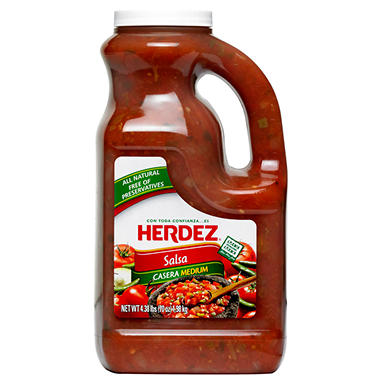 Herdez Salsa Casera Medium - 70 oz.