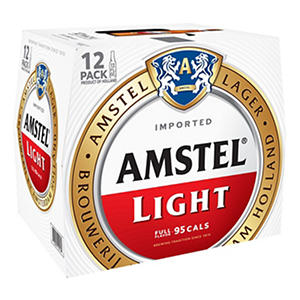 Amstel Light Premium Lager (12 oz. bottles, 12 pk.)