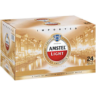 Amstel® Light Lager - 24 / 12 oz.