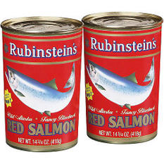 Rubinstein's Red Salmon - 2/14.75oz