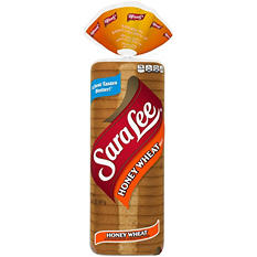 Sara Lee Honey Wheat Split Top - 2 loaves