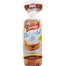 Sara Lee® Delightful™ Wheat Bread - 20 oz. - 2 pk.