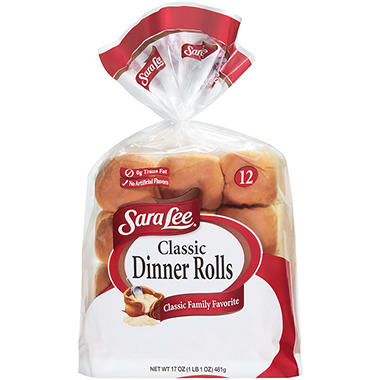 Sara Lee Classic Dinner Rolls - 12 ct.