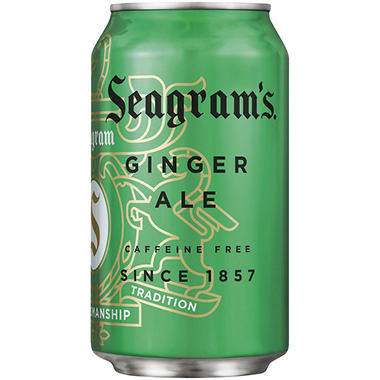 Seagram's� Ginger Ale - 24/12 oz.