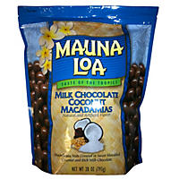 Mauna Loa Milk Chocolate & Coconut Covered Macadamia Nuts