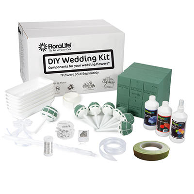 Do It Yourself Wedding Kit - Flowers not Included
