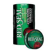 Red Seal Long Cut Wintergreen - 5 cans