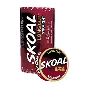Skoal Long Cut Straight - 5 can roll