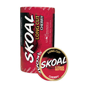 Skoal Long Cut Cherry - 5 can roll