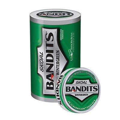 Skoal Bandits Wintergreen - 5 can roll