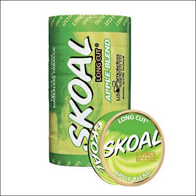 Skoal Long Cut Apple - 5 can roll