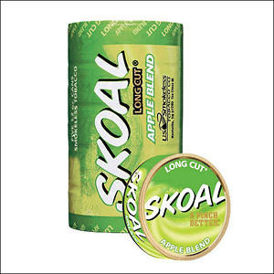 Skoal Long Cut Apple - 5 can roll