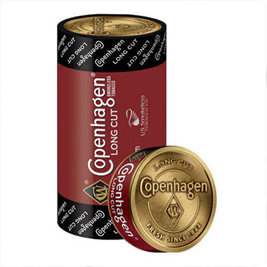 Copenhagen  Long Cut - 5 can roll
