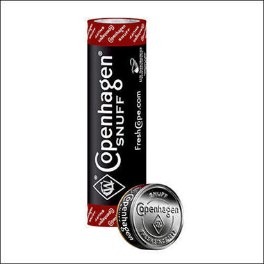 Copenhagen Long Cut Whiskey - 5 can roll