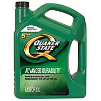 Quaker State Advanced Durability Motor Oil 5w30 2 - 5 Quart Bottles