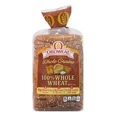 Oroweat 100% Whole Wheat Bread (24 oz. loaf., 2 ct.)