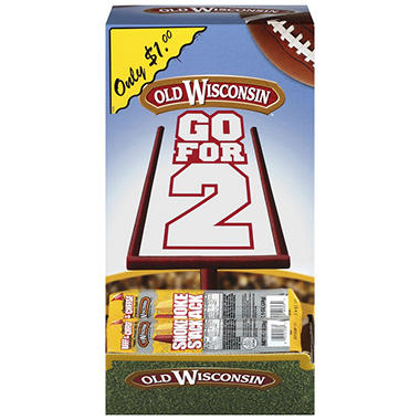 Old Wisconsin Beef Sticks in Display Box