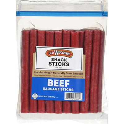 Old Wisconsin Beef Sticks - 64 sticks - 2 lbs.