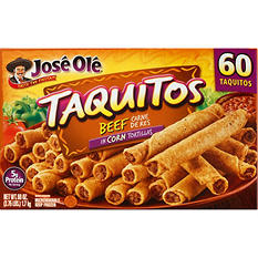 Jose Ole Beef Taquitos (1 oz., 60 ct.)