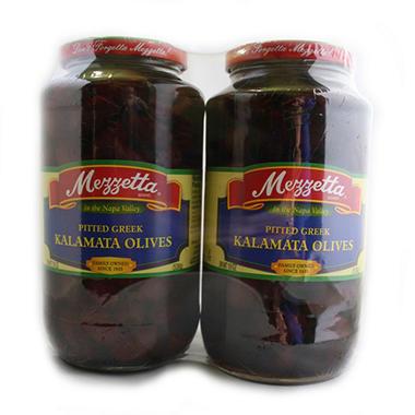 G.L. Mezzetta® Pitted Kalamata Olives - 2/19 oz.