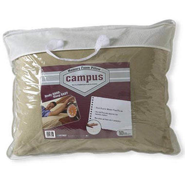 Kittrich Campus™ Crushed Memory Foam Pillow