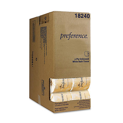 Georgia Pacific - Preference, Bath Tissue, 2-Ply, 550 Sheets - 40 Rolls