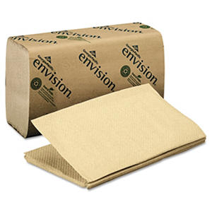 "Georgia Pacific - Envision, Singlefold Paper Towels, 9.25"" x 10.25'' - 4,000 Towels"